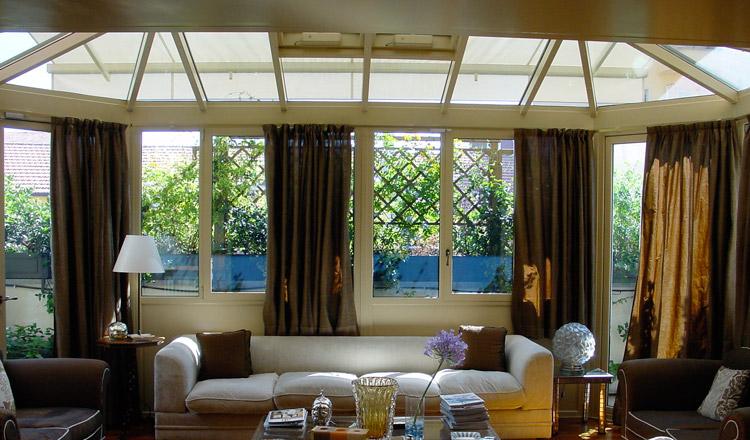 Lidi architettura in metallo - Verande su terrazzi ...