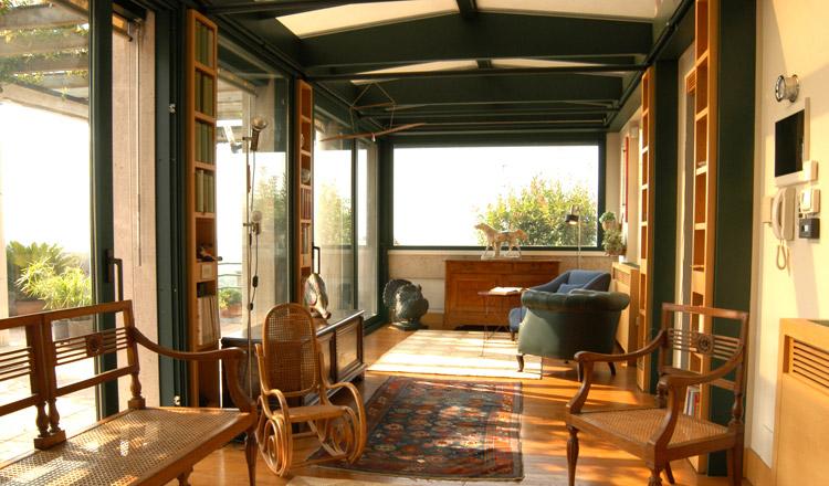 Veranda completa con vetrata scorrevole verande gardendreams pinterest verandas