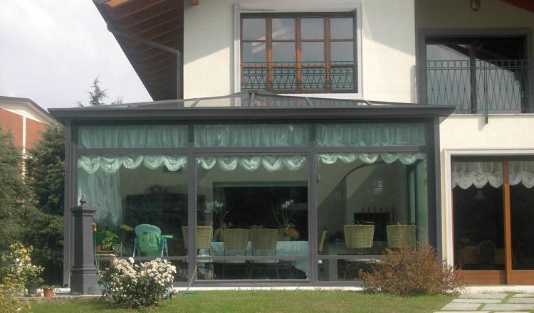 Lidi architettura in metallo - Veranda giardino d inverno ...